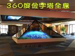 360度全息展柜 金字塔全息玻璃 3D立体成像