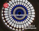 彩繪玻璃定制彩色玻璃定制玻璃定制廠家上海圓博