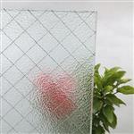 香梨压花铁线玻璃