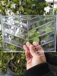 深圳超白w,鱼骨纹热熔玻璃可钢化10-12mm厚