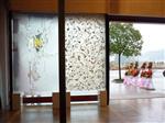 深圳厂家供应玻璃玄关背景墙UV喷绘机