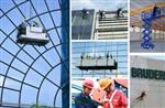 长沙外墙玻璃更换丨观光电梯玻璃维修丨玻璃雨棚安装