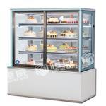 西安蛋糕柜西安直角玻璃冷藏蛋糕展示柜