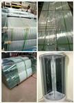 厂家直销订做弯钢、平钢淋浴房玻璃