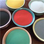 河北厂家供应高品质 高纯度烧结不掉色40-320目彩色玻璃微