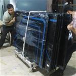 广州供应黑色工艺烤漆玻璃