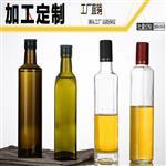 棕色油瓶橄榄油瓶茶油瓶方形瓶圆形瓶