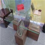 私人订制玻璃桌  定制热弯玻璃