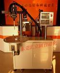 AB双液自动混合带旋转工作台混胶机,圆形滤清器专用灌胶机