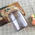 欧式玻璃花瓶干花插花透明玻璃花瓶彩色鲜花瓶客厅样板间花瓶摆件