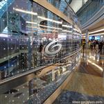 LED发光玻璃幕墙价格推荐驰金玻璃厂家