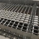 山东威诺加工清洗机链片式网带,不锈钢履带