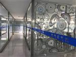 艺术玻璃隔断图案可定制