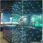 驰金特种玻璃厂家直销光电玻璃 LED发光玻璃吊顶、天花满天星