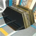 10MM钢化玻璃加工异形边