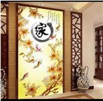 北京艺轩艺术玻璃隔断 隔断门免费安装