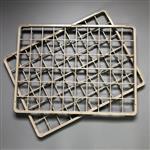 镜片烤架烤盘耐高温230度 防滑胶粒全自动丝印机料盘盖板镜片