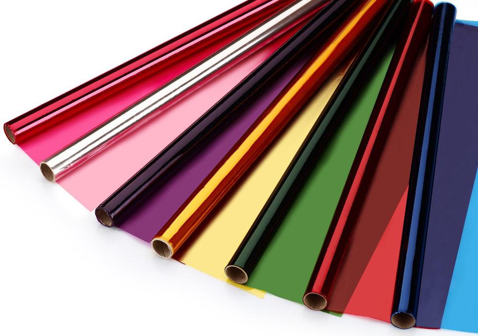 特种玻璃材料装饰彩色调光膜