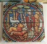 教堂艺术装饰玻璃、高温喷墨打印,永不掉色永不褪色