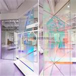 广州厂家直销 幻彩玻璃 变色炫彩玻璃