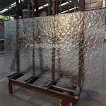热熔钢化玻璃 工艺热熔玻璃 肌理热熔玻璃 加工