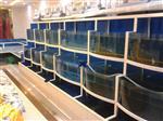 烧烤店鱼池哪里做,石锅鱼玻璃鱼缸定做,广州海鲜鱼缸