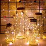 玻璃星空瓶发光瓶圣诞装饰瓶玻璃瓶