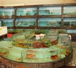 海鲜玻璃鱼缸怎么清洗,海鲜池玻璃花了怎么办