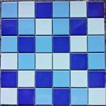 纯色陶瓷马赛克 泳池专用马赛克 深蓝色马赛克生产厂家