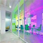 广州同民供应炫彩玻璃 变色幻彩玻璃 6厘钢化
