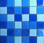 重庆水晶马赛克厂家游泳池专用瓷砖批发 价格