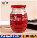 定制蜂蜜玻璃瓶 蜂蜜罐 马口铁盖玻璃瓶 螺纹蜂蜜酱菜罐 厂家