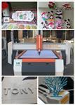 自动巡边雕刻机 异形图案轮廓沿边雕刻切割机