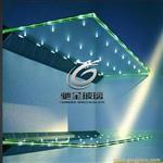 led发光玻璃通电玻璃智能玻璃