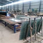 钢化玻璃夹胶炉厂家淋浴房玻璃夹胶设备两层干法EVA玻璃夹丝机