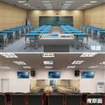 学校录播教室单项透视玻璃12mm