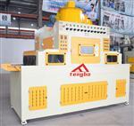 浙江腾博玻璃平板式自动喷砂机设备