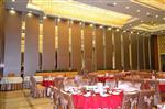 西安芯贵125型超高型宴会厅移动隔音墙专业定制