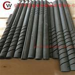 1500度双螺纹硅碳棒管