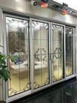 新款中空门镶嵌玻璃厚度20MM黑条