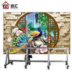 外墙面喷绘机高清文化墙打印彩绘机3d墙面绘画机