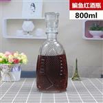 1000ml洋酒瓶 玻璃紅酒瓶