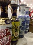 顶级商务礼品瓷器西安开业花瓶中国山水画锦绣山河