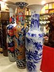 西安公司酒店开业摆件- 大花瓶迎客松身上可做字