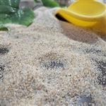 天津儿童海 哪里有卖的 30-50目人工造景用圆粒海砂