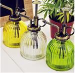 豎紋玻璃灑水壺歐式復古園藝灑水壺