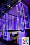 激光内雕艺术玻璃 广告牌定做