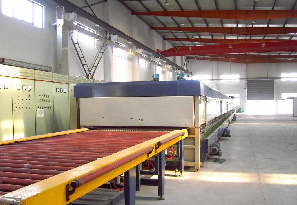 二手钢化玻璃生产线/钢化玻璃设备