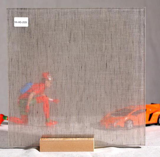 夹胶玻璃夹丝绢布材料ST12