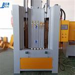 钢管自动喷砂机厂家 钢管转盘式自动喷砂机参数